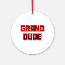 Grand Dude Ornament (Round)
