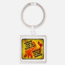 Working People Voting Repug like a Square Keychain