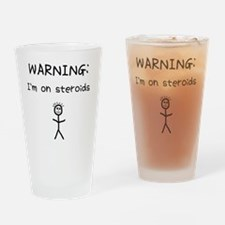 WARNING1 Drinking Glass