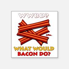 "wwbd-2012-k Square Sticker 3"" x 3"""