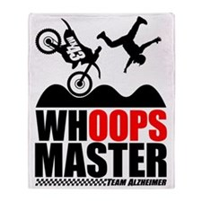 Whoops Master Throw Blanket