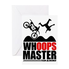 Whoops Master Greeting Card