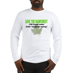 Save the Rainforest Long Sleeve T-Shirt