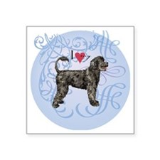"PWD-charm2 Square Sticker 3"" x 3"""