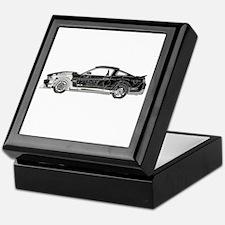 car drive auto race fm Keepsake Box