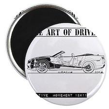 car drive auto race ccw Magnet
