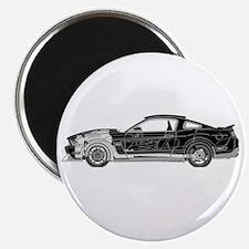 car drive auto race fm Magnet