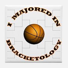 Major-Bracketology Tile Coaster