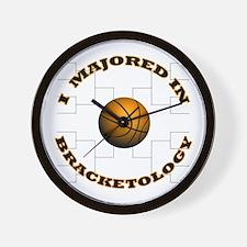 Major-Bracketology Wall Clock