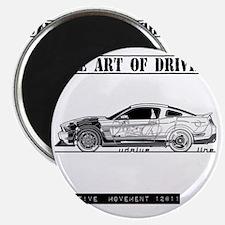 car drive auto race fmw Magnet