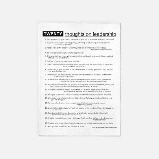 leadership 5'x7'Area Rug