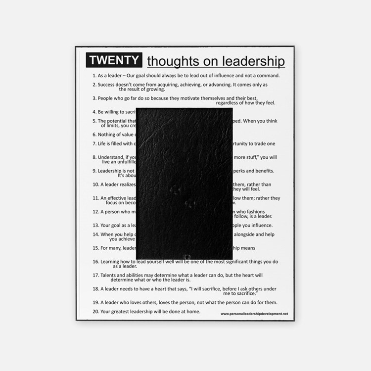 leadership Picture Frame