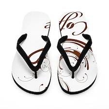 fancycoffeebig Flip Flops
