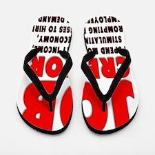 Im a JOB CREATOR 4 LIGHT SHIRT 600dpi Flip Flops