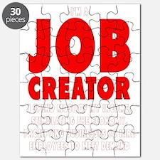 Im a JOB CREATOR 4 DARK SHIRT 600dpi Puzzle