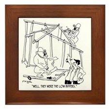 5776_construction_cartoon Framed Tile