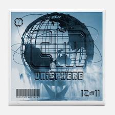 Unisphere New York City Tile Coaster