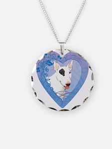 bull-heart Necklace Circle Charm