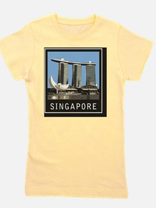 Singapore1Postcard1 Girl's Tee