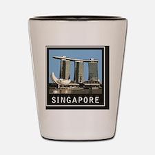 Singapore1Postcard1 Shot Glass