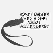 derby_honey_badger_black_evol Luggage Tag