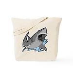 Shark Great White Ocean Tote Bag