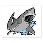 Shark Great White Ocean Small Poster
