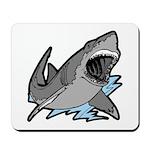 Shark Great White Ocean Mousepad