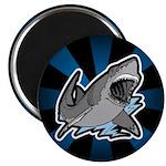 """Shark Great White Ocean 2.25"""" Magnet (10 pack)"""