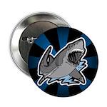 "Shark Great White Ocean 2.25"" Button (100 pack)"