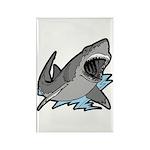 Shark Great White Ocean Rectangle Magnet (100 pack