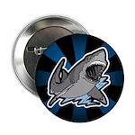 Shark Great White Ocean Button