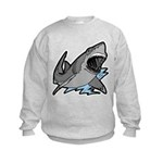 Shark Great White Ocean Kids Sweatshirt