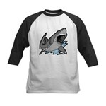 Shark Great White Ocean Kids Baseball Jersey
