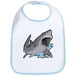 Shark Great White Ocean Bib