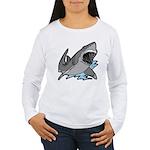 Shark Great White Ocean Women's Long Sleeve T-Shir