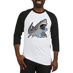Shark Great White Ocean Baseball Jersey