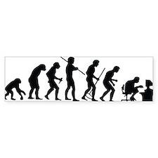 evolution Bumper Bumper Sticker