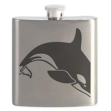 killer whale Flask