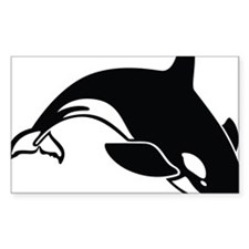 killer whale Stickers