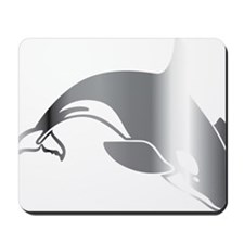 killer whale 2 Mousepad