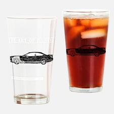 car drive auto race mbb Drinking Glass