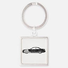 car drive auto race mbb Square Keychain