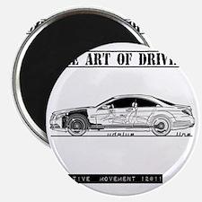 car drive auto race mb Magnet