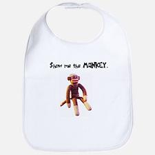 Show Me the Monkey Bib