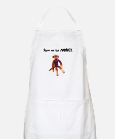 Show Me The Monkey BBQ Apron