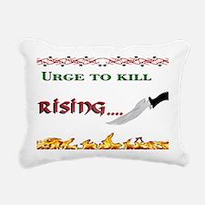 urge to kill. trans. Rectangular Canvas Pillow