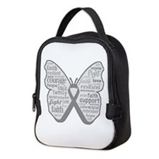 Parkinsons Disease Awareness Neoprene Lunch Bag