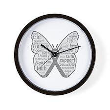 Parkinsons Disease Awareness Wall Clock
