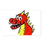 Happy Dragon Postcards (Package of 8)